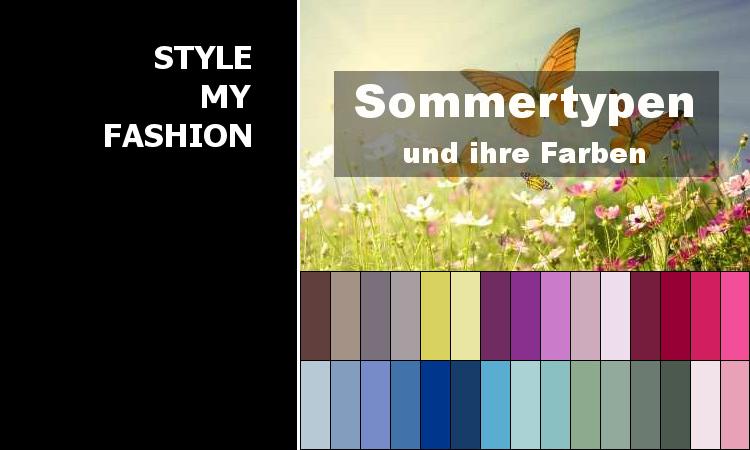 Steht Die Farbe Blau Einem Sommertyp Style My Fashion