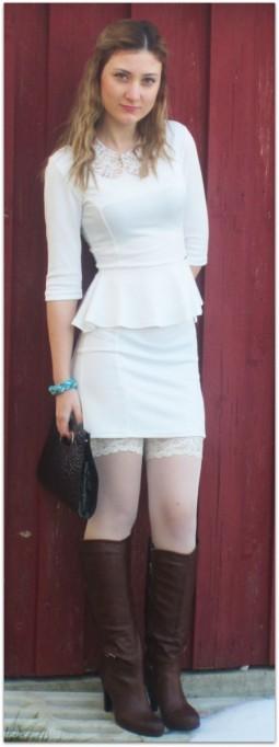 Stylist 'Geryy92' im sexy Peplum-Kleid