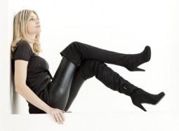 Wie trägt man Overknee-Stiefel? | Style my Fashion
