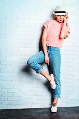 Boyfriend-Jeans - wie man sie richtig trägt | Style my Fashion