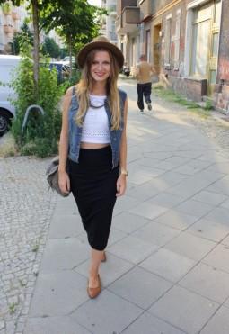 Alicja lebt Vintage im Hippie-Look