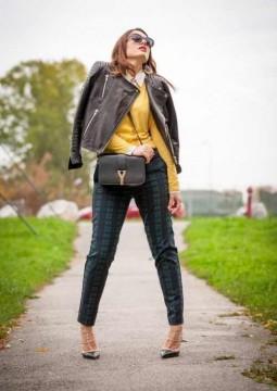 Die neuesten Modetrends 2014: viel Karo und viel Gelb...