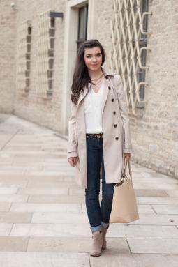 Der Trenchcoat - zeitloser Herbstmantel  | Style my Fashion