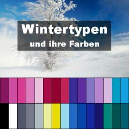 Steht die Farbe Blau einem Wintertyp?    Style my Fashion