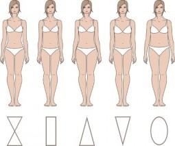 Die Figurtypen: X, H, A, V und O Typ