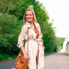 Beige Trenchcoat, MCM Bag and Bikerjeans   Style my Fashion