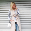 Sleeveless Trenchcoat,Striped Shirt,Boyfriendjeans | Style my Fashion