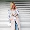 Sleeveless Trenchcoat,Striped Shirt,Boyfriendjeans | Style my Fashion