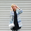 Zara Coat and DIY Ripped Jeans   Style my Fashion