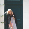 Black Chucks and Striped Dress | Style my Fashion