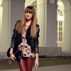 Red & Black Leather | Style my Fashion