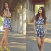 Tropical Playsuit | Style my Fashion