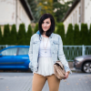 Camel jeans and whites  | Style my Fashion