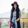 Stripes and Burgundy | Style my Fashion