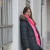bright pink scarf | Style my Fashion