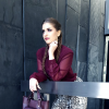 Marmor Snake Print Hose + Berry Hemd & Tasche | Style my Fashion