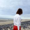 Roter Mini mit weißen Neoprenblouson | Style my Fashion