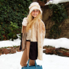 Beige in snow | Style my Fashion