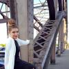 Black & White Plateau Shoes & Overknee Socks | Style my Fashion