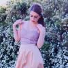 nude skirt + rose lace corsett + liliac blazer - wedding guest look   Style my Fashion