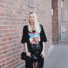 Bandshirts x Fishnet Tights | Style my Fashion