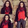 Tartan scarf | Style my Fashion