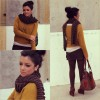 Mustard touch   Style my Fashion