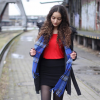 Girl with the blue scarf | Style my Fashion