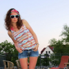 Outfit: Aztek Shirt + Denim Shorts | Style my Fashion