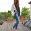 Outfit: Dots & Blue Jeans