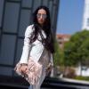 WHITE MUUBAA BIKER JACKET & MELTIN' POT BLEACHED JEANS | Style my Fashion