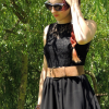 Spitzenbluse mit Vintage- Gürtel | Style my Fashion
