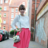 Pink Midi Skirt | Style my Fashion