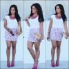 Flowers skirt   Style my Fashion