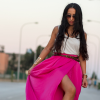 PINK MAXI SKIRT | Style my Fashion
