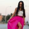 PINK MAXI SKIRT | Style my Fashion