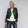green jacket | Style my Fashion