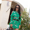ORIENTAL GREEN DRESS | Style my Fashion