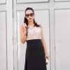 LADY LACE and MIDI SKIRT | Style my Fashion