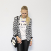 Black&White Leather | Style my Fashion