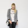Black&White Leather | Style my Fashion