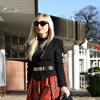 red tartan skirt | Style my Fashion