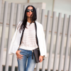 TWO-TONED BLAZER and JEANS