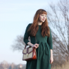 Emerald green dress | Style my Fashion