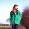 Green coat | Style my Fashion