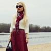 Pleated midi leather skirt | Style my Fashion