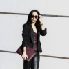 Burgundy Leather Bustier | Style my Fashion
