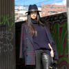 Muubaa Stretch Leather Leggins and Hat | Style my Fashion