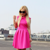 pink dress | Style my Fashion