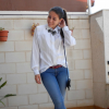 WHITE SHIRT AND JEANS   Style my Fashion